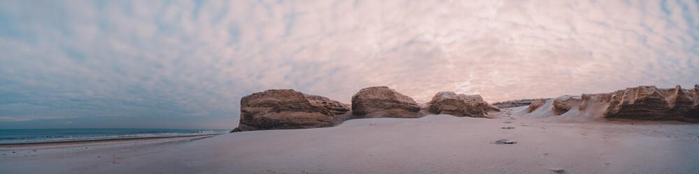 Dünenabbruchkanten an der Nordsee - fotokunst von Philipp Behncke