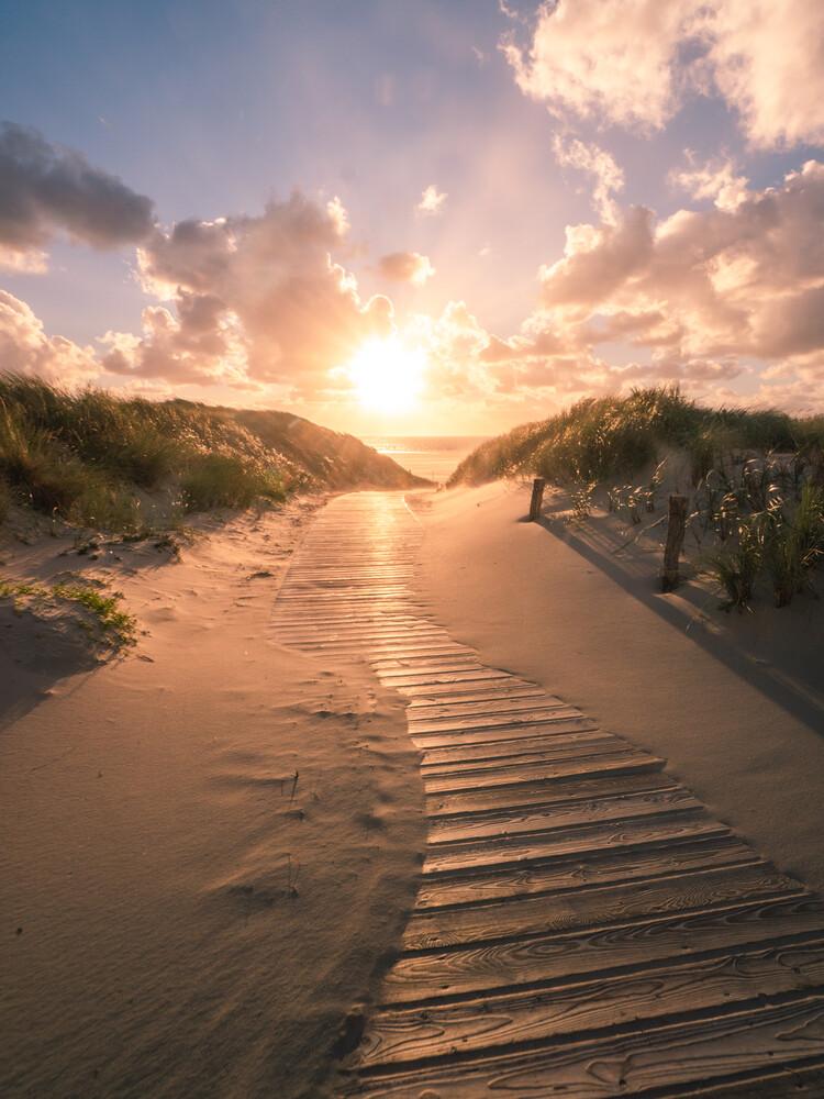 Der Weg zum Meer - fotokunst von Philipp Behncke