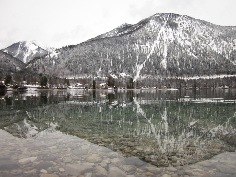Walchensee - fotokunst von Bernd Pfleger