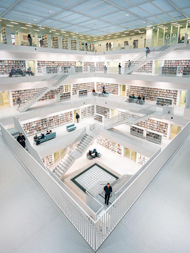 Library - fotokunst von Dimitri Luft