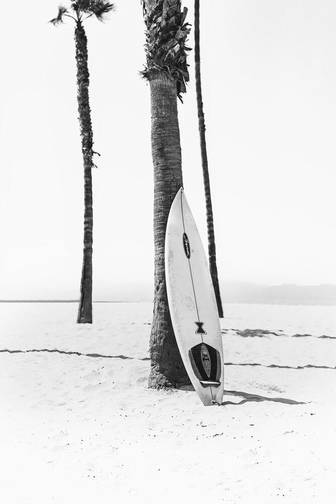 Surfboard BW - Fineart photography by Kathrin Pienaar