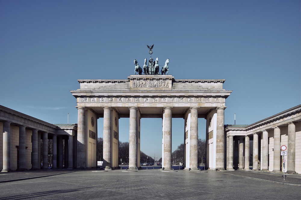 Berlin 2020 No. 1 - fotokunst von Michael Belhadi