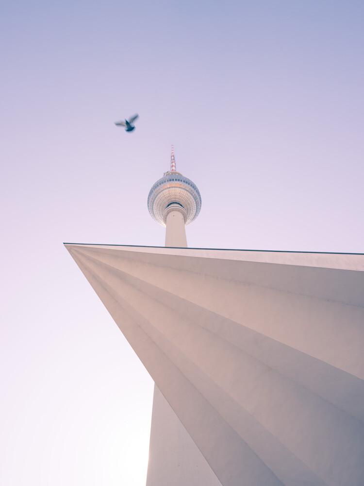 Fernsehturm Berlin - fotokunst von Holger Nimtz