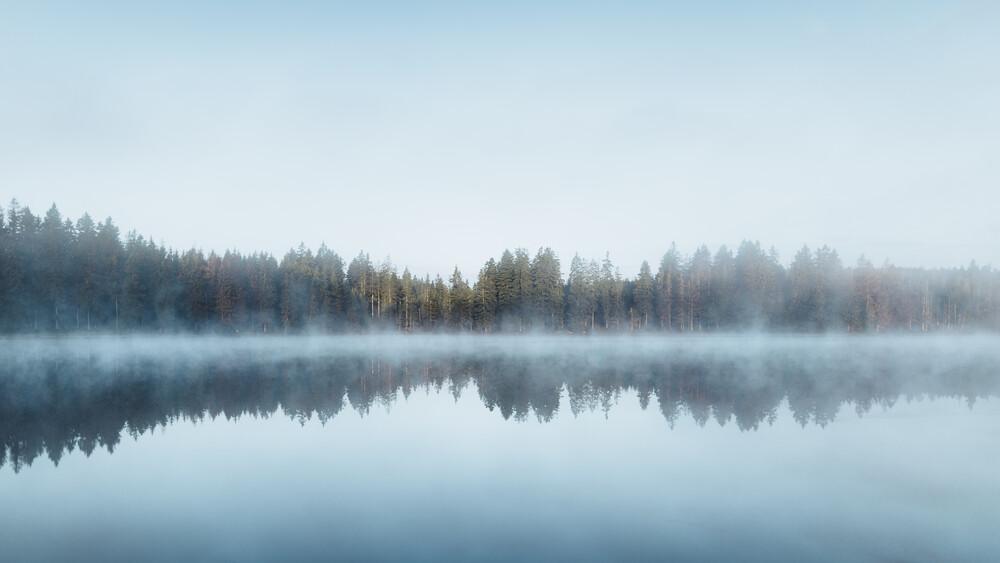 Blue Morning - fotokunst von Maximilian Fischer