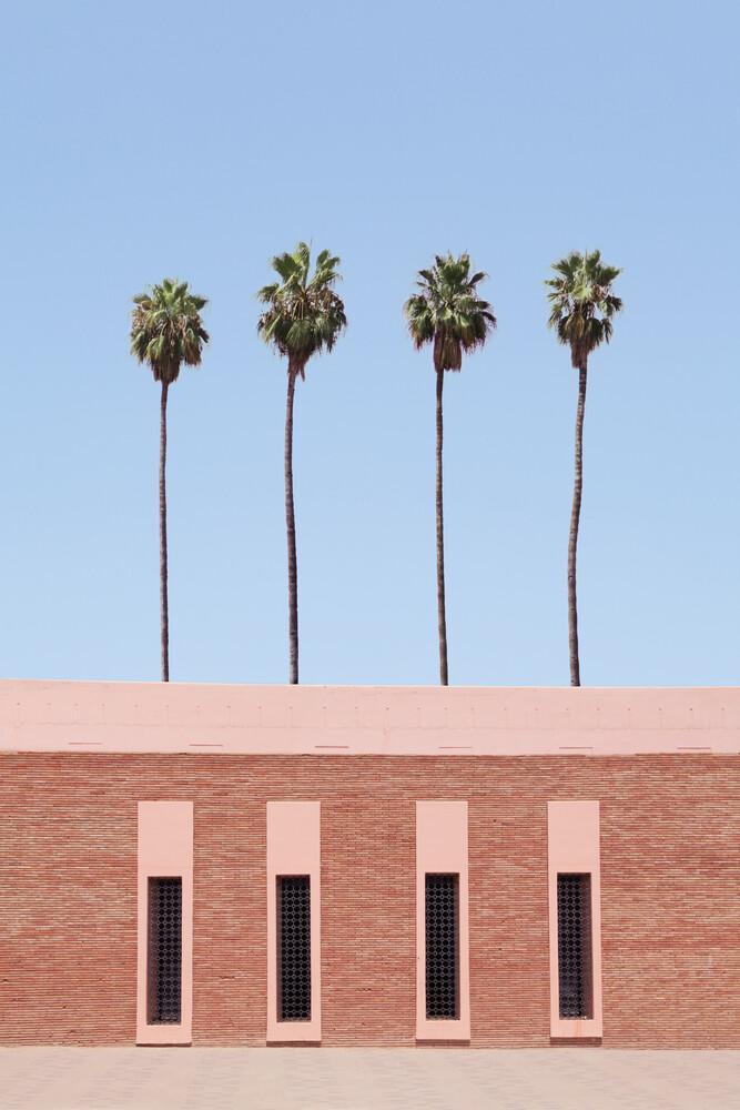 Palm Tree Factory - fotokunst von Rupert Höller