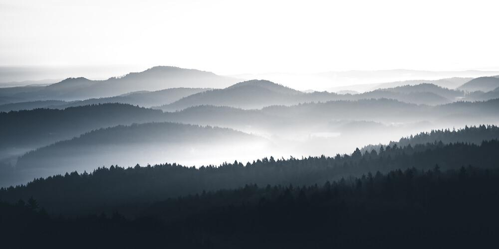 Hills of Franconia - fotokunst von Philipp Pablitschko