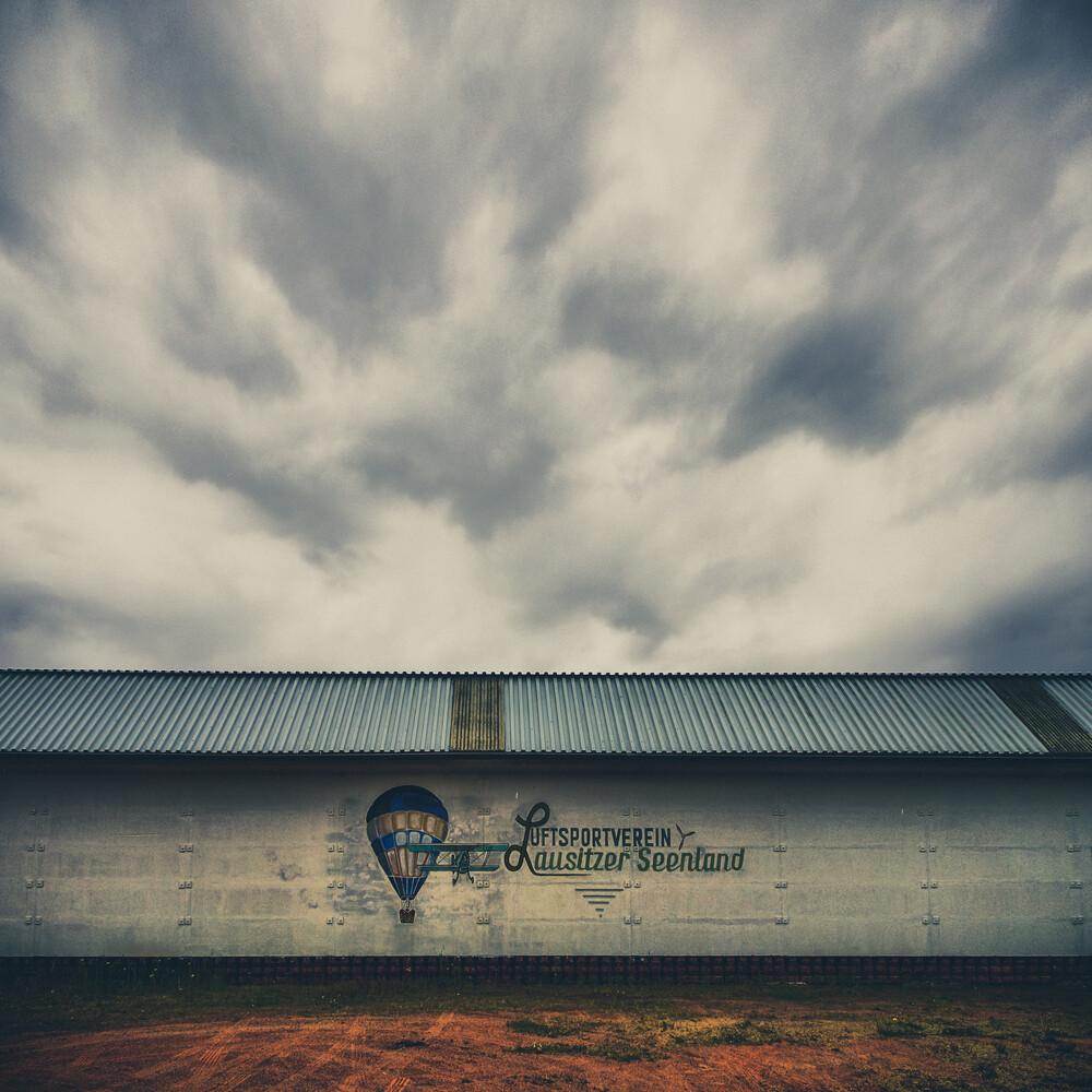 AirBlues - fotokunst von Klaus-peter Kubik