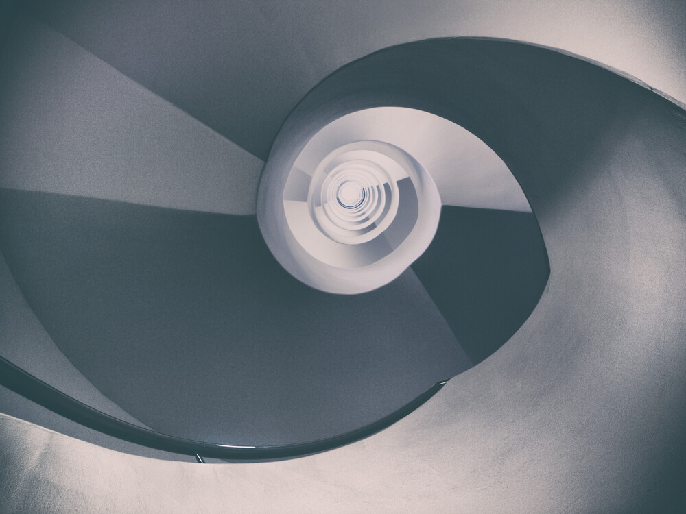 CirculumInfinitum IV - fotokunst von Klaus-peter Kubik