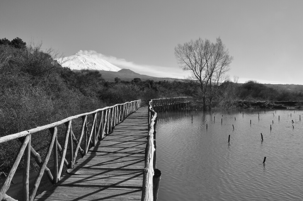 Gurrida lake - fotokunst von Domenico Piccione