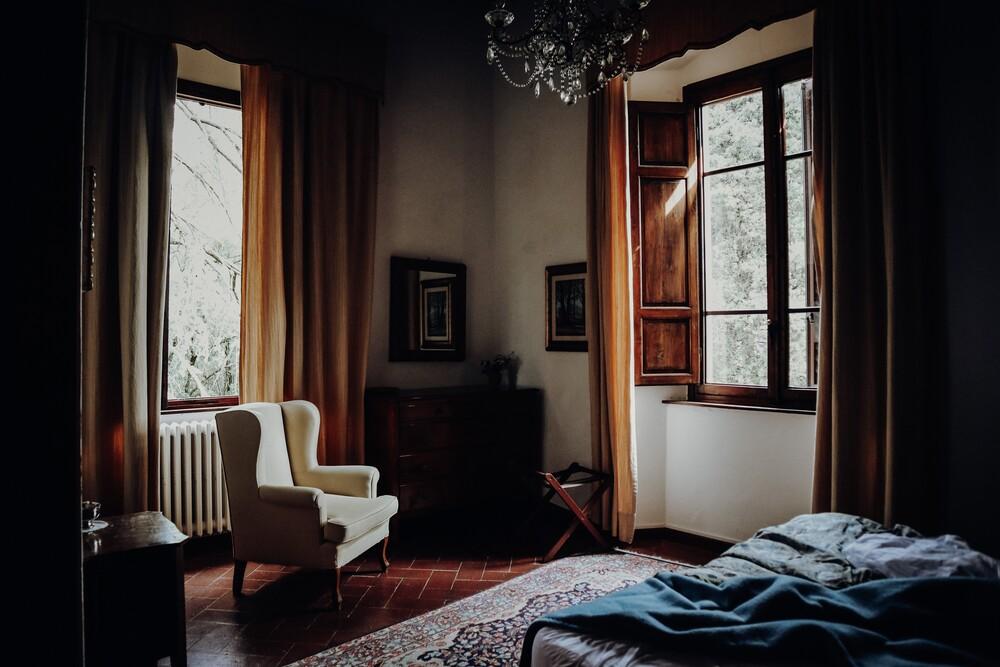 zimmer mit ausblick - fotokunst von Florian Paulus