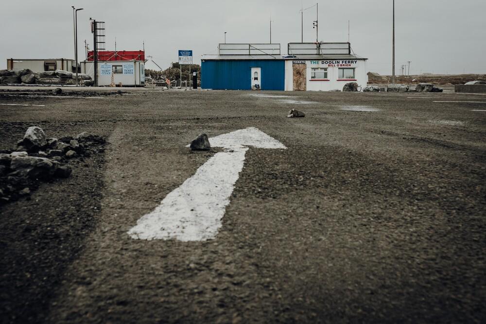 doolin ferry - fotokunst von Florian Paulus