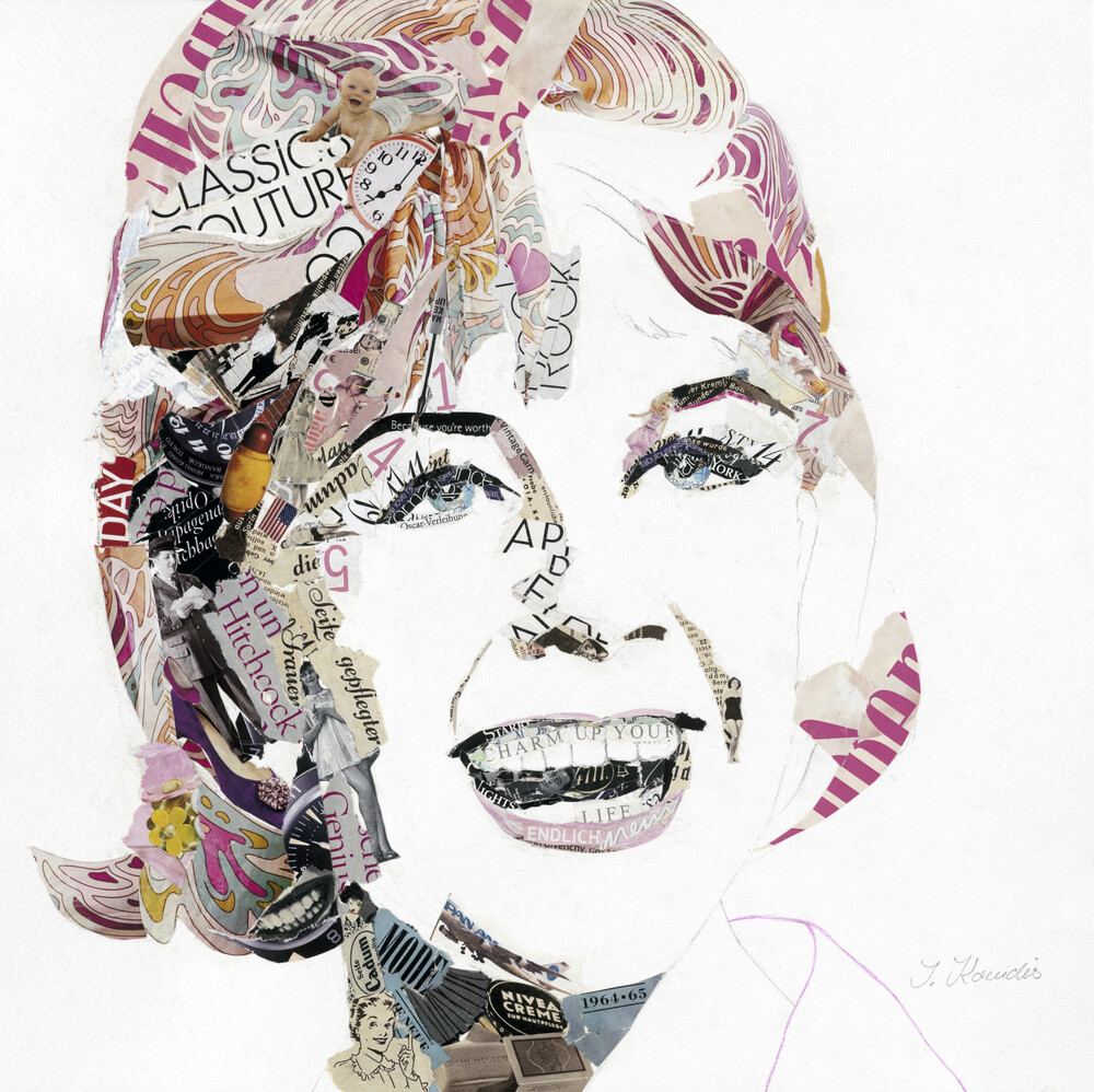 Doris - fotokunst von Ines Kouidis