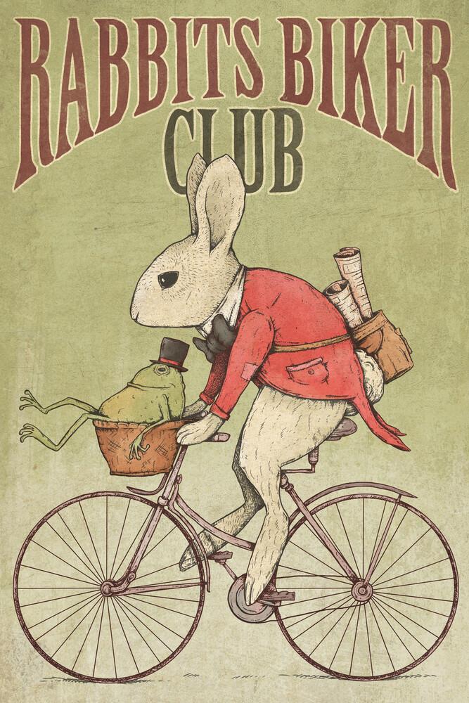 Rabbits Biker Club - Fineart photography by Mike Koubou