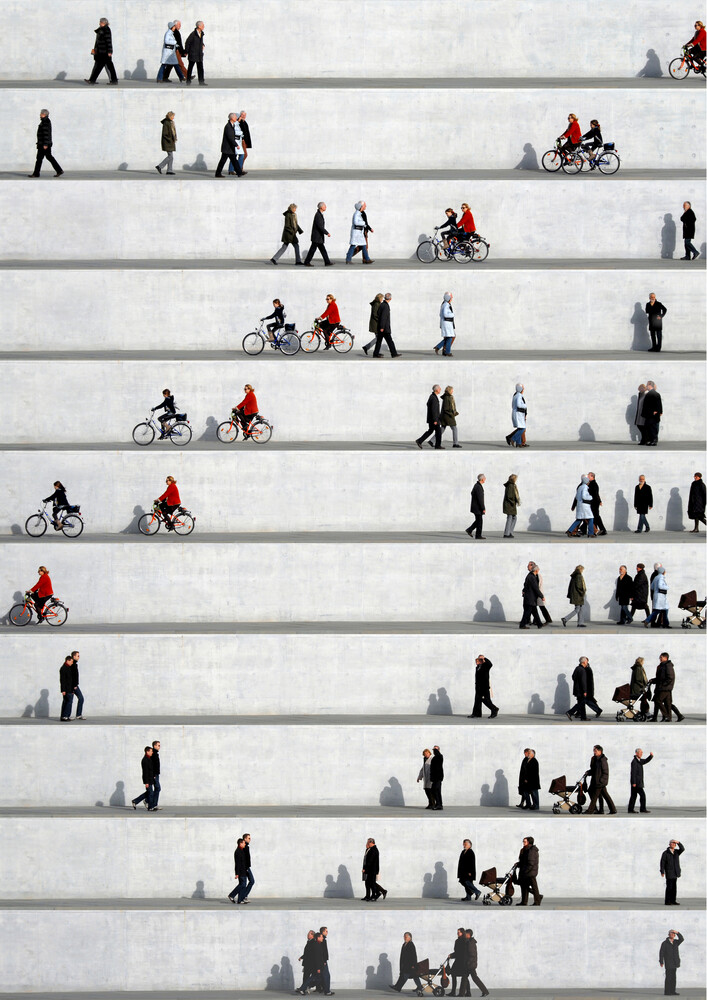 Wall People Detail No. 24 - Fineart photography by Eka Sharashidze