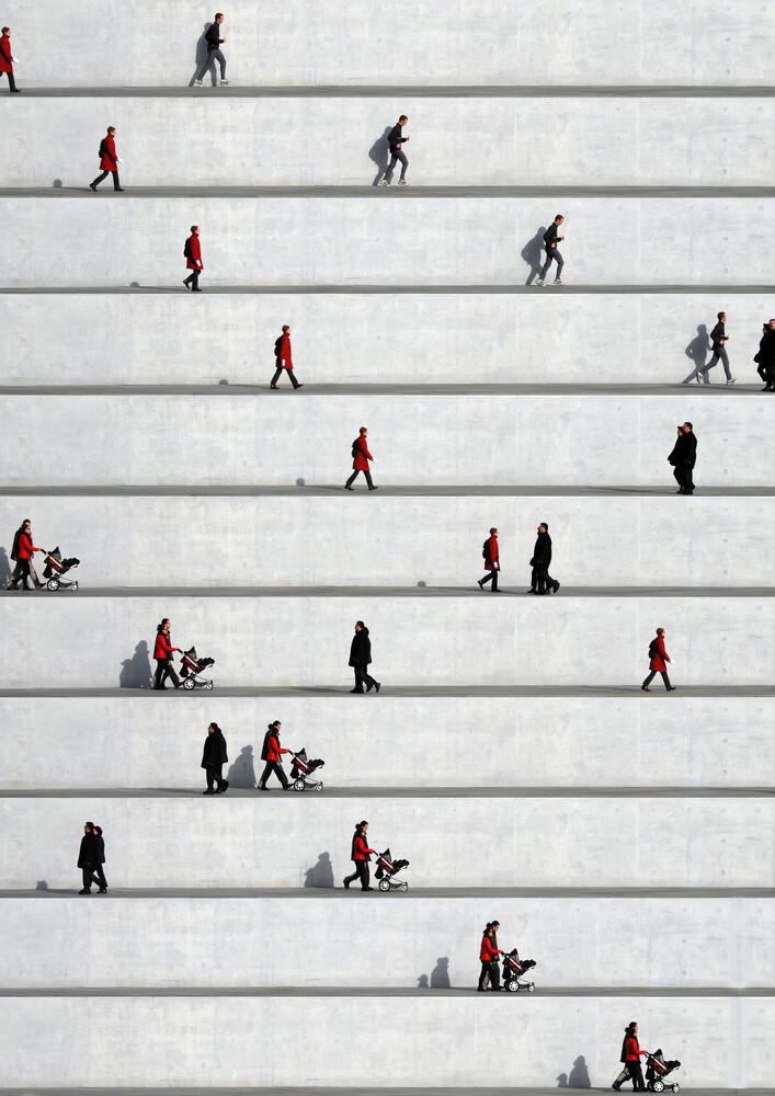 Wall People Detail No. 23 - Fineart photography by Eka Sharashidze