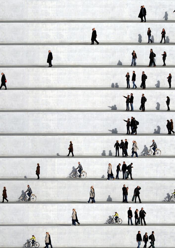 Wall People Detail No. 22 - Fineart photography by Eka Sharashidze
