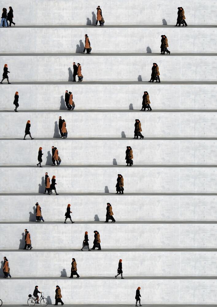 Wall People Detail No. 21 - fotokunst von Eka Sharashidze