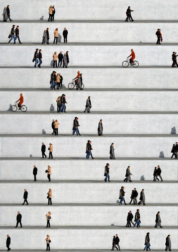 Wall People Detail No. 15 - fotokunst von Eka Sharashidze