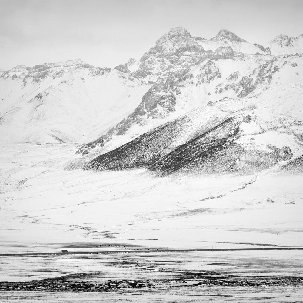 Tibetan Plateau, Study, # 4 - fotokunst von Stephan Opitz