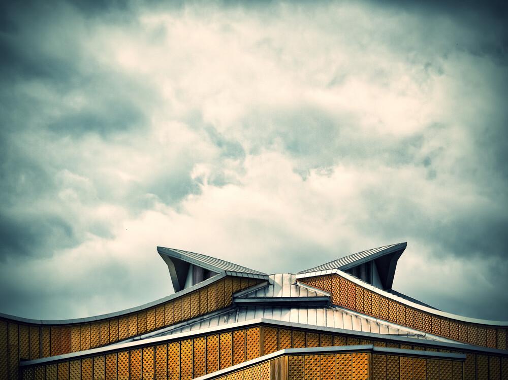 RoofArt I - fotokunst von Klaus-peter Kubik