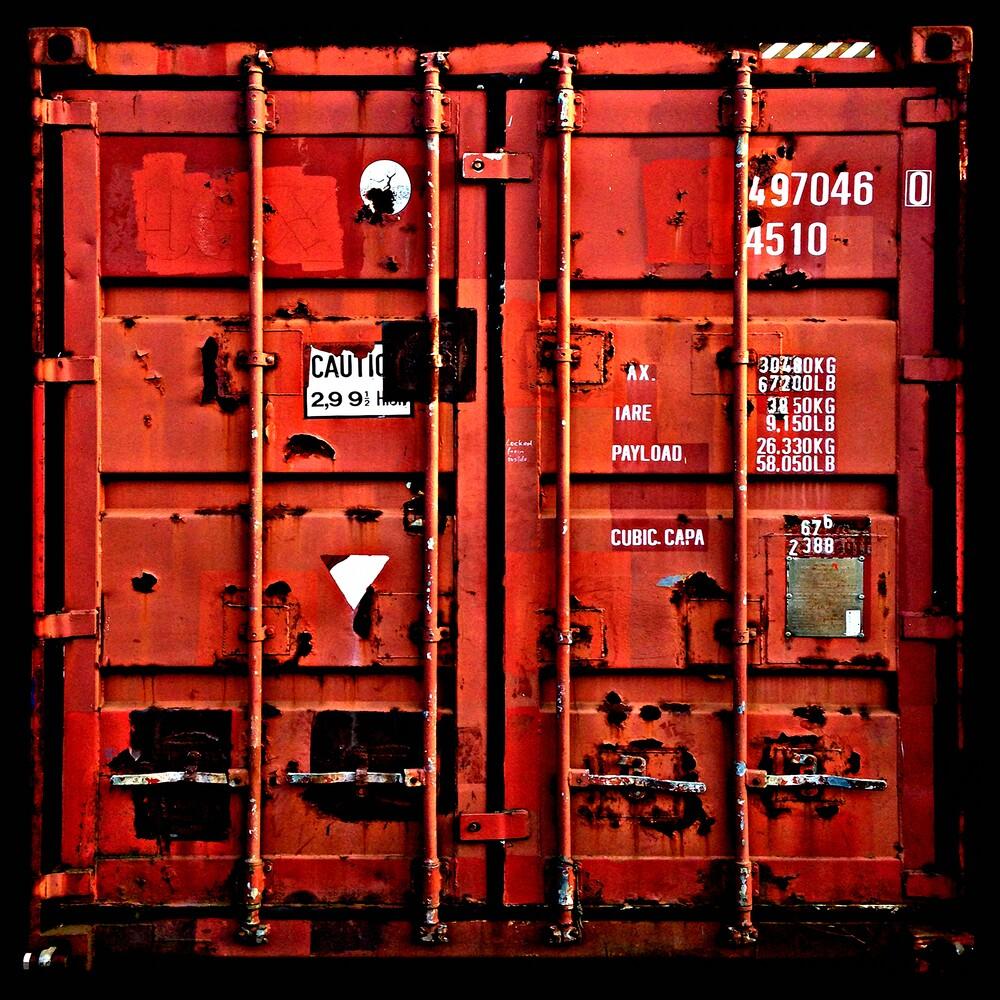 container love | rot - fotokunst von Florian Paulus