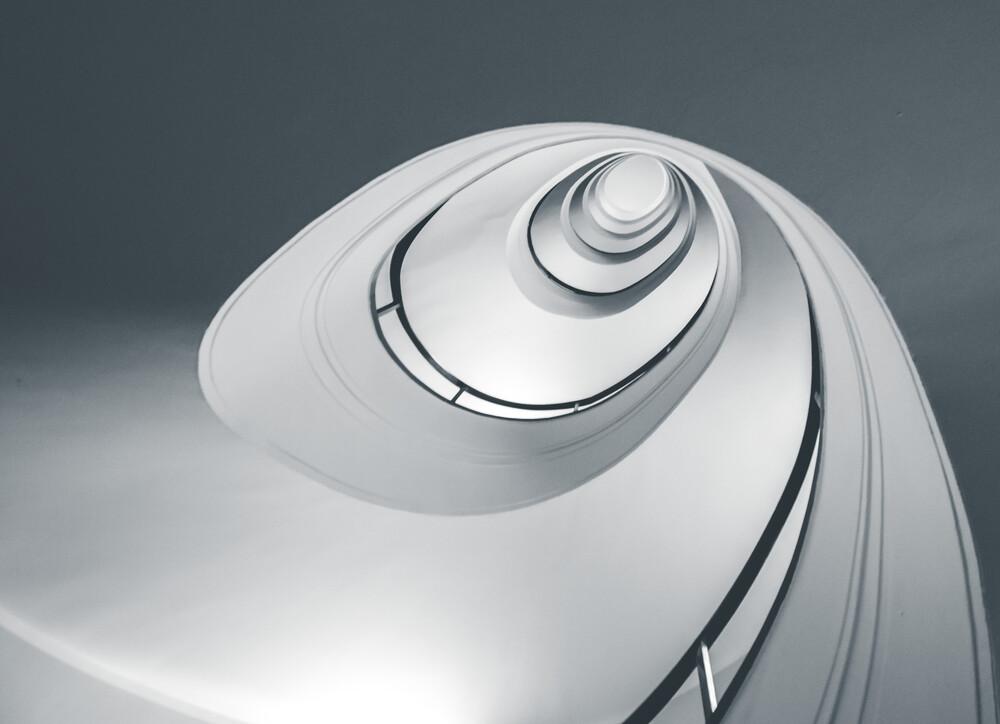HBB Spiral I - fotokunst von Klaus-peter Kubik