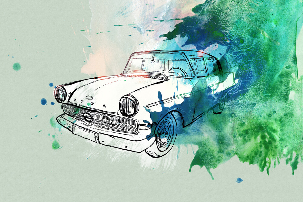 Oldtimer - Fineart photography by Sabine Israel