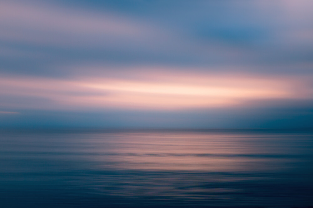 Baltic Sunset - fotokunst von Holger Nimtz