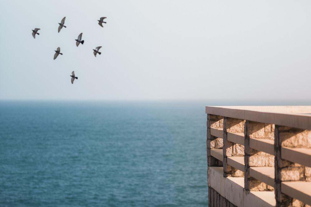 Shekou Pier - fotokunst von AJ Schokora