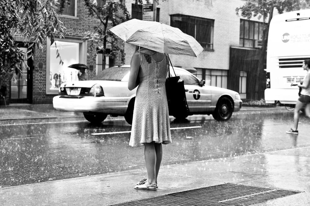 rainy day - fotokunst von Tim Bendixen