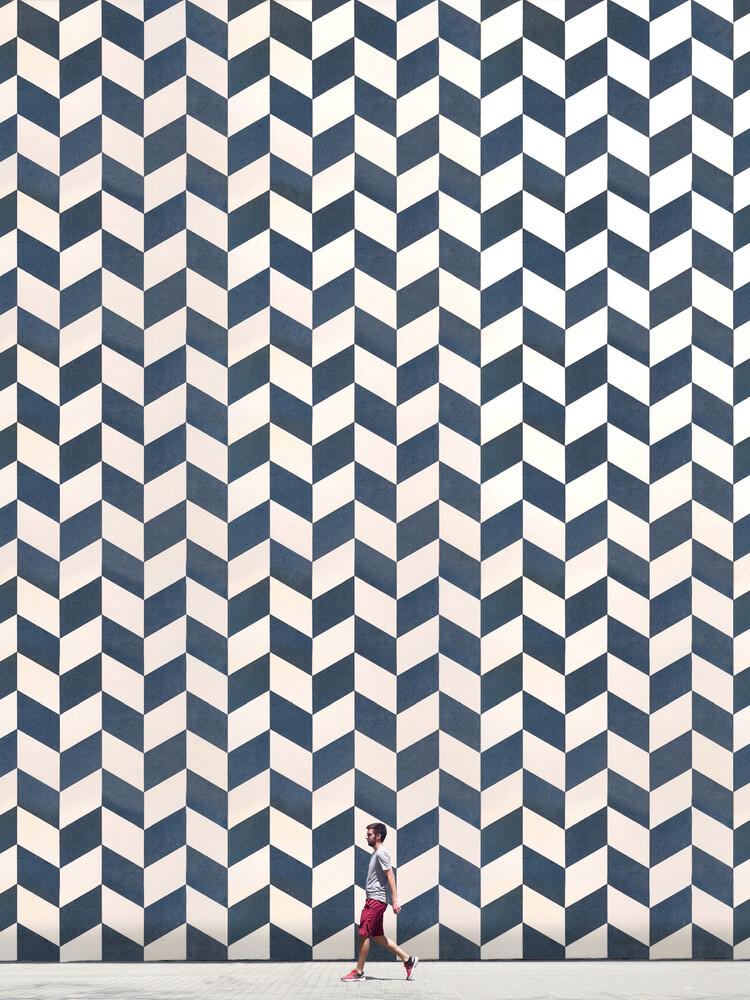 Patterned wall - fotokunst von Roc Isern