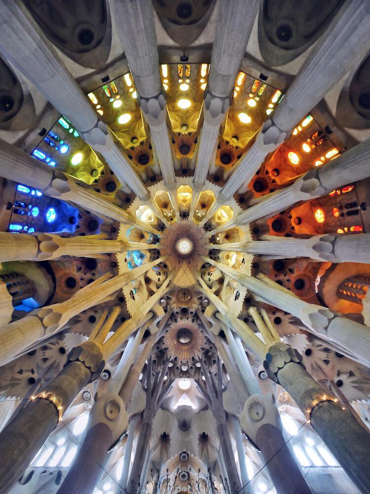 Color wheel - fotokunst von Roc Isern