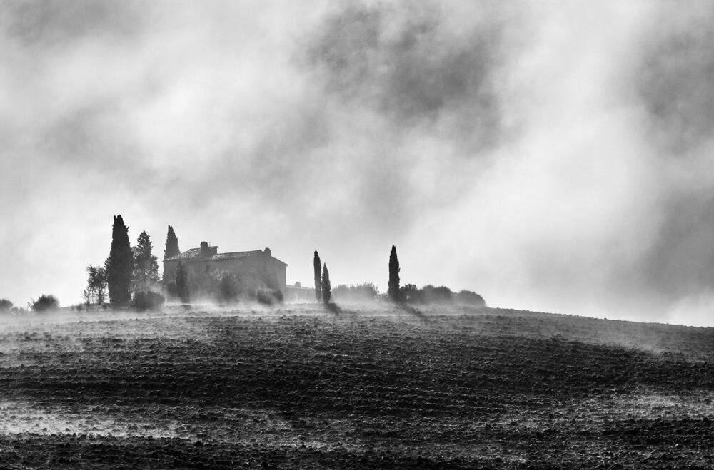 Tuscany in the morning - fotokunst von Victoria Knobloch
