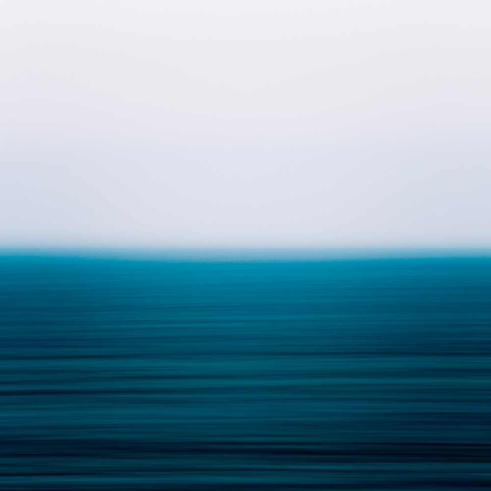 Blue Sea - fotokunst von Holger Nimtz