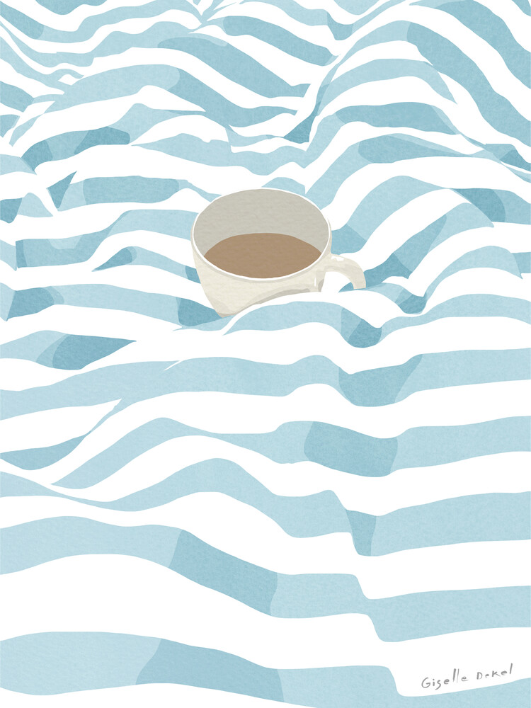 Coffee in Bed - Fineart photography by Giselle Dekel