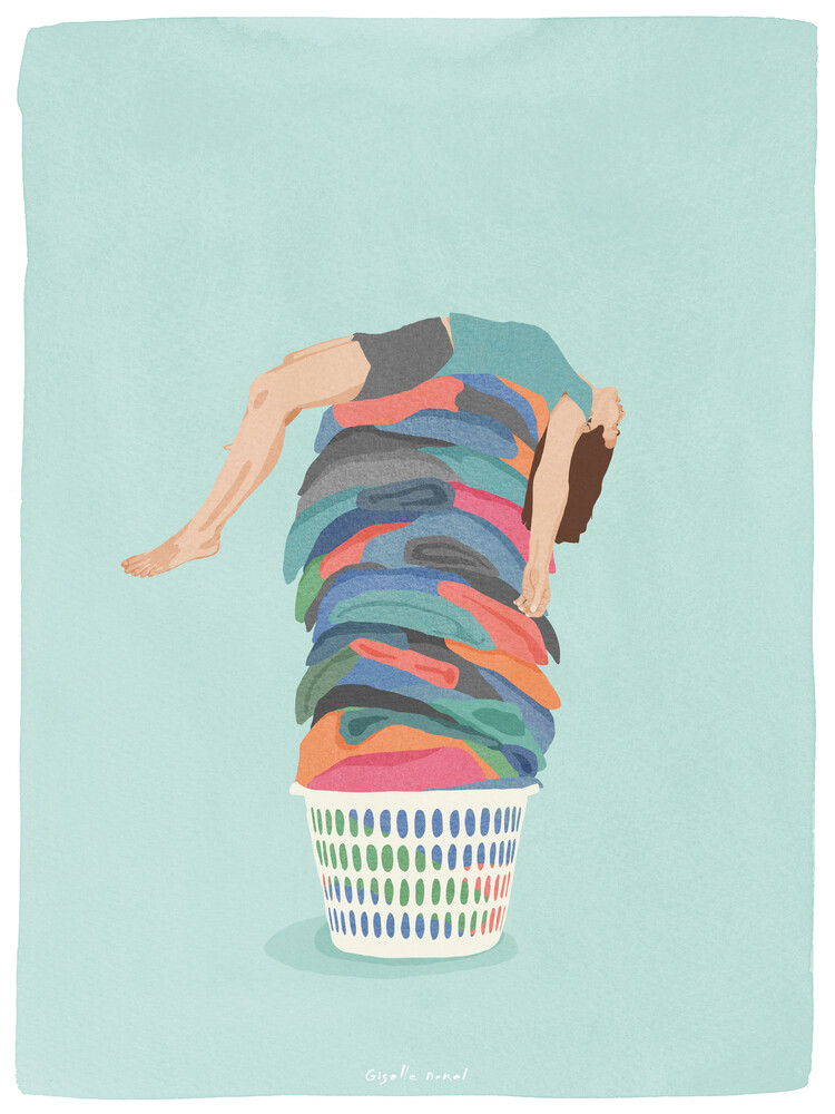 Laundry Day - Fineart photography by Giselle Dekel