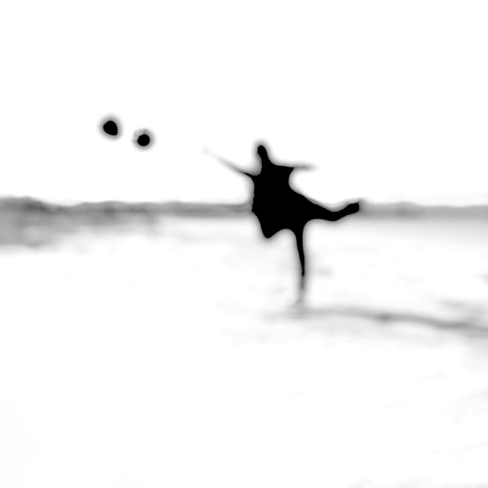Spiel mit Luftballons - fotokunst von Ernst Pini