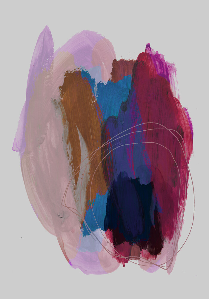 Abstract Brush Strokes 40 - Fineart photography by Mareike Böhmer