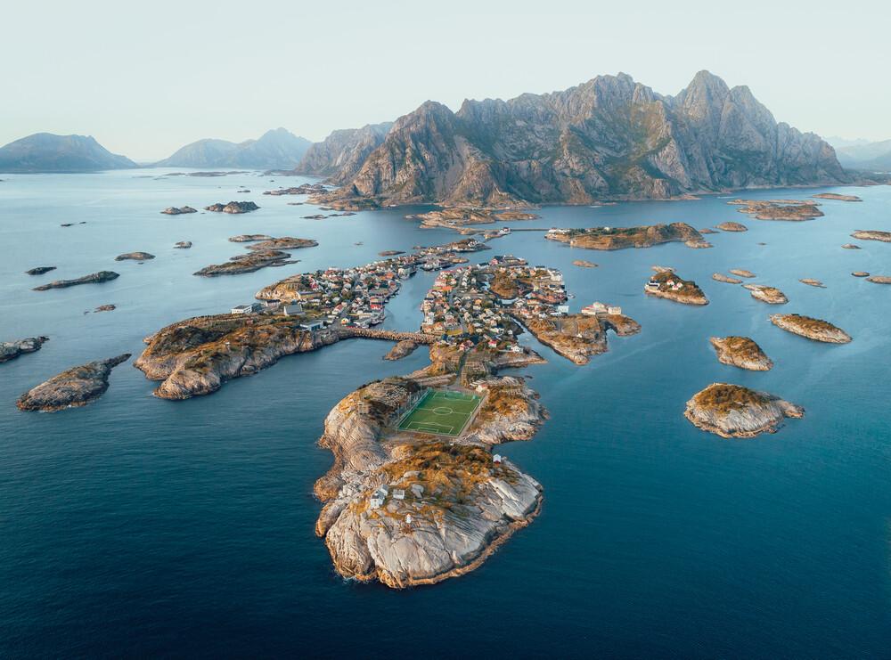 Football Heaven 1 - fotokunst von Lennart Pagel