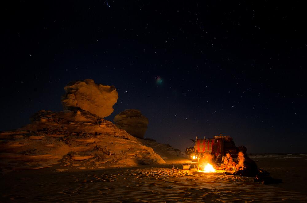 Desert Night - Fineart photography by Mono Elemento