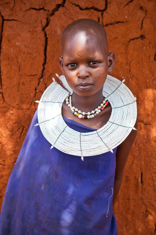 Maasai Child - Fineart photography by Stefanie Lategahn