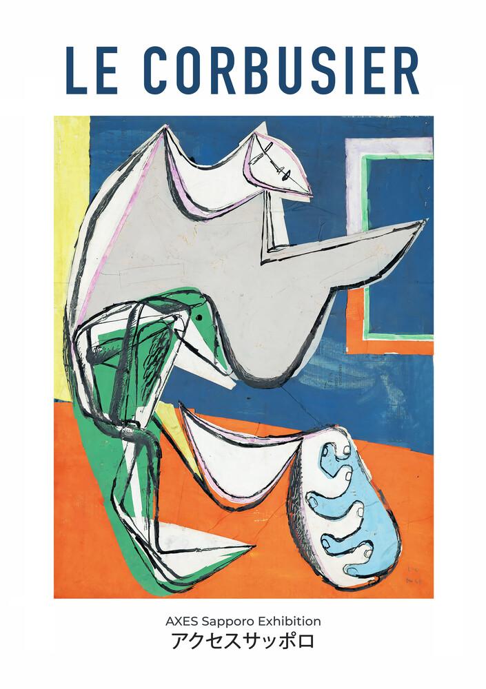 Le Corbusier - AXES Sapporo Exhibition - Fineart photography by Art Classics
