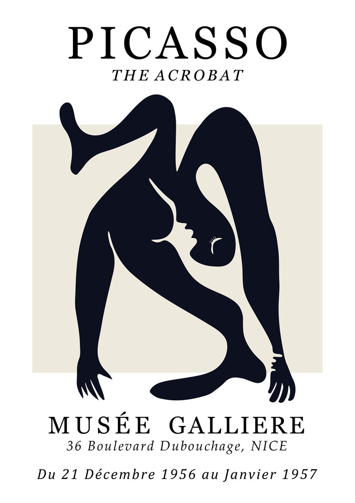 Picasso - The Acrobat - Fineart photography by Art Classics