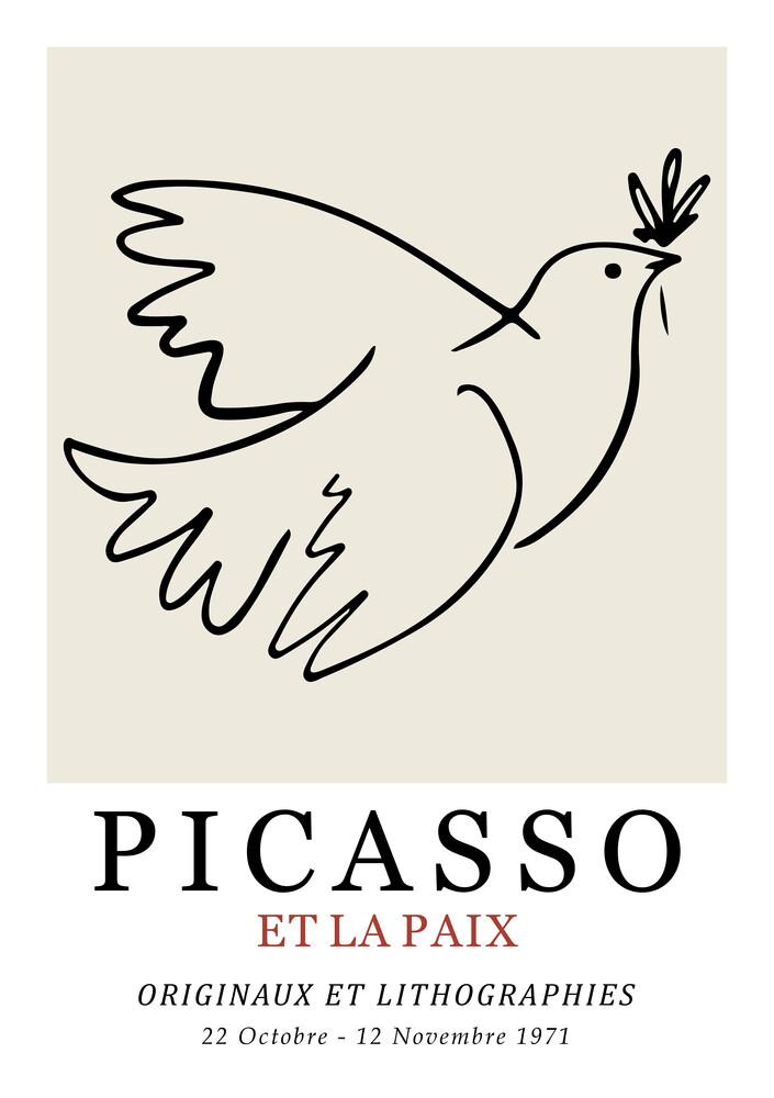 Picasso - Et La Paix - Fineart photography by Art Classics
