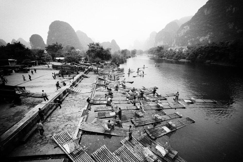 Yangshuo 阳朔县, Guangxi, China (2) - fotokunst von Eva Stadler