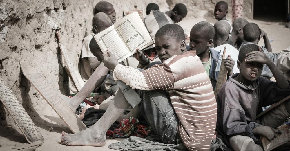 Koranschüler in Timbuktu - Fineart photography by Mathias Becker