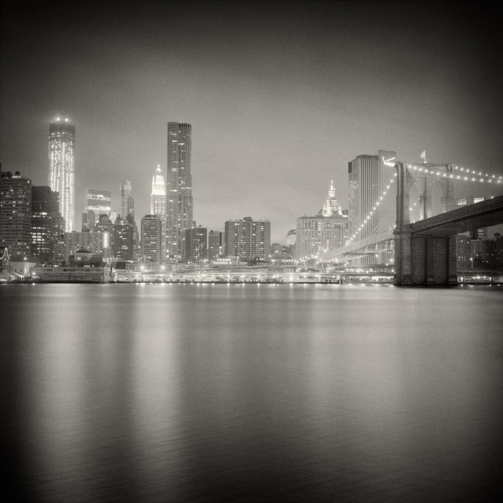 New York City - Skyline - fotokunst von Alexander Voss
