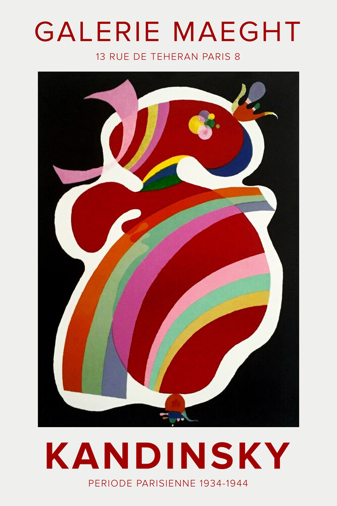 Kandinsky - Periode Parisienne 1934-1944 - Fineart photography by Art Classics