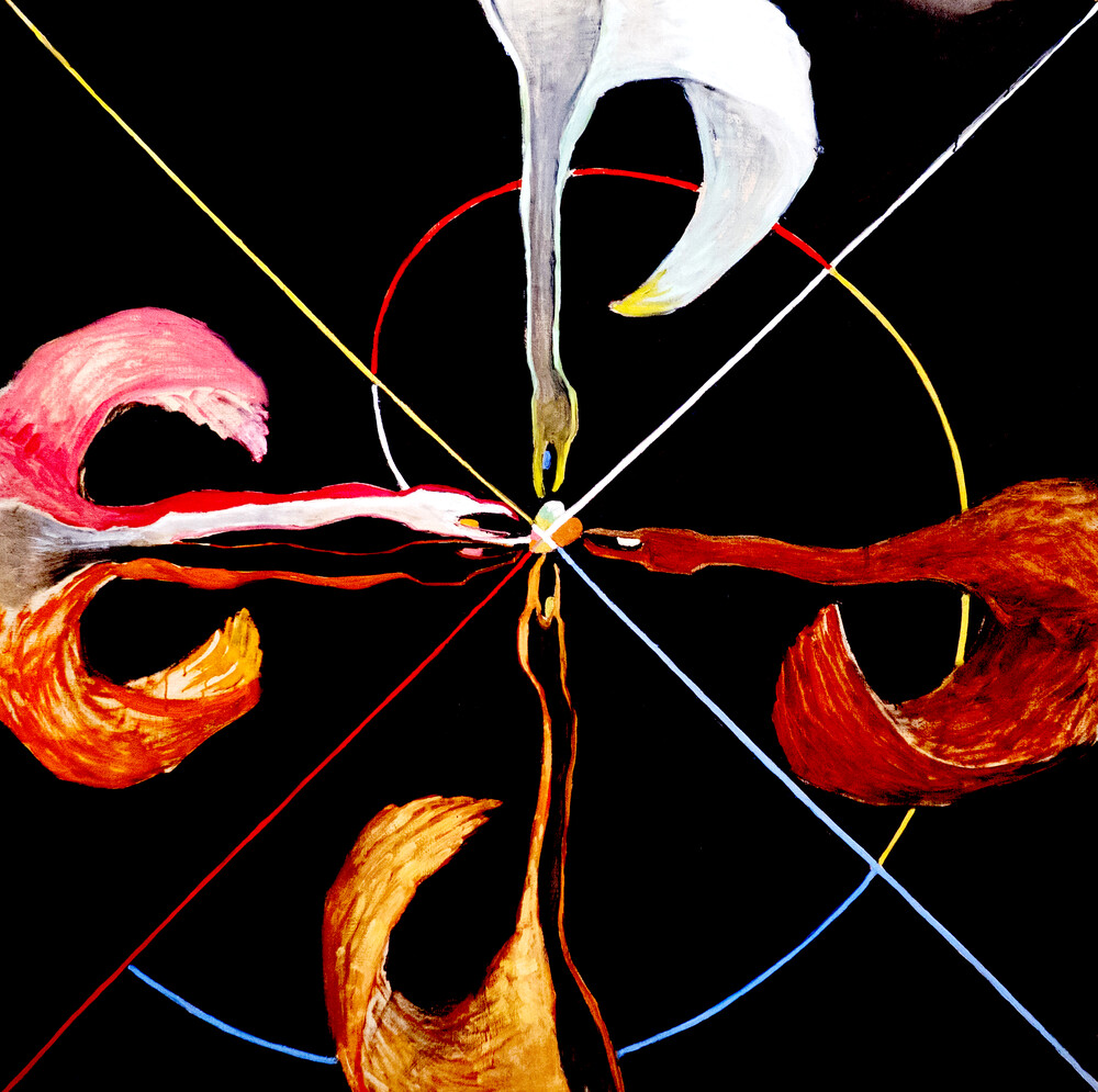 Hilma af Klint – The Swan No. 7 - Fineart photography by Art Classics