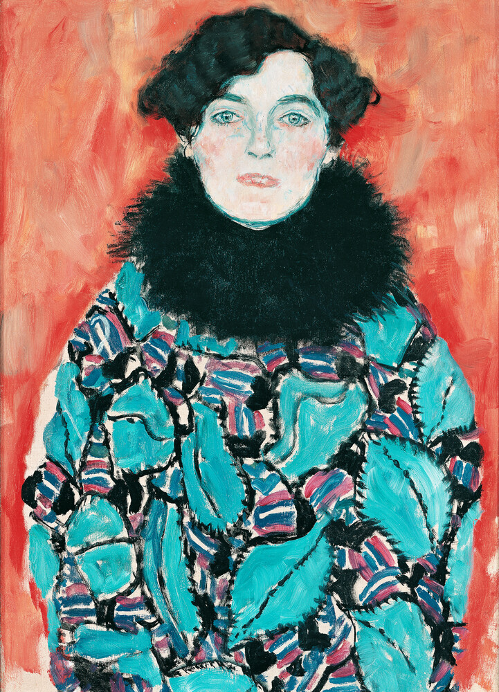 Gustav Klimt:  Johanna Staude - Fineart photography by Art Classics